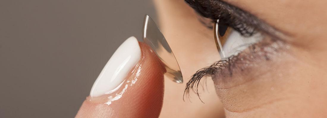 Commander des lentilles de contact
