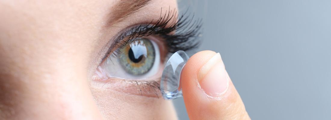 Lentille contact sclérale